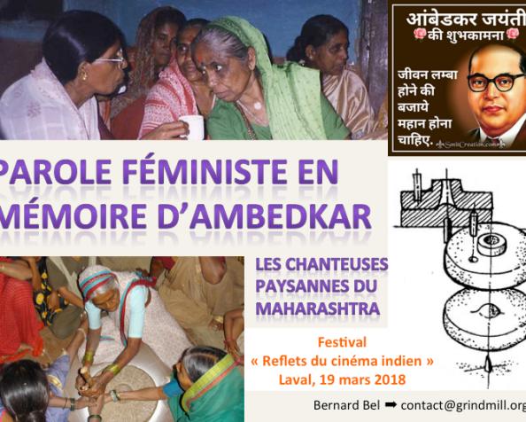 Parole féministe en mémoired'Ambedkar